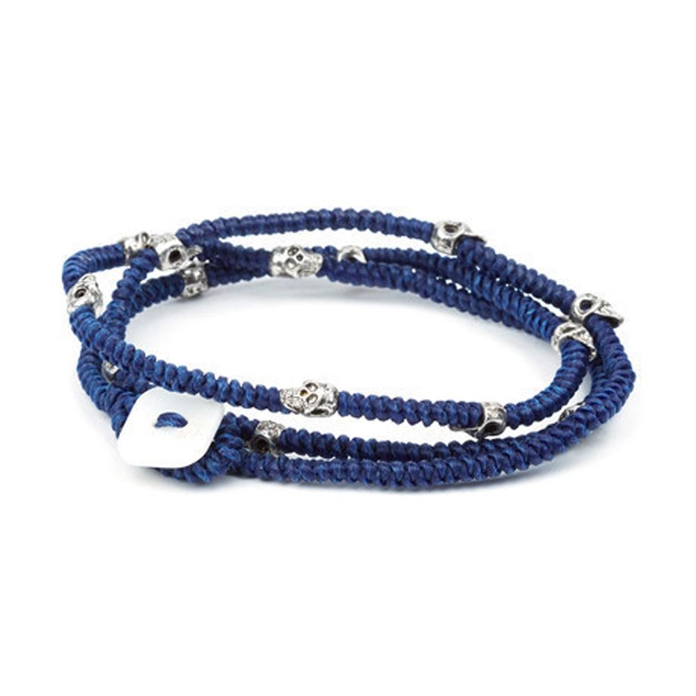 Blue Poseidon Wrap Bracelet - Buttigo