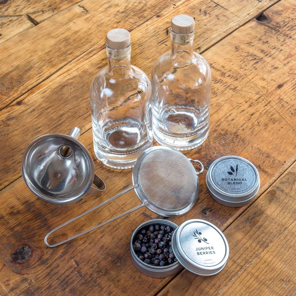 Homemade Gin Kit   Make Ridiculously Delicious Gin at Home