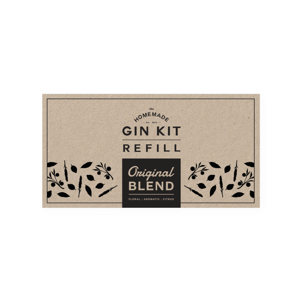 Original Blend Refill Tins   The Homemade Gin Kit