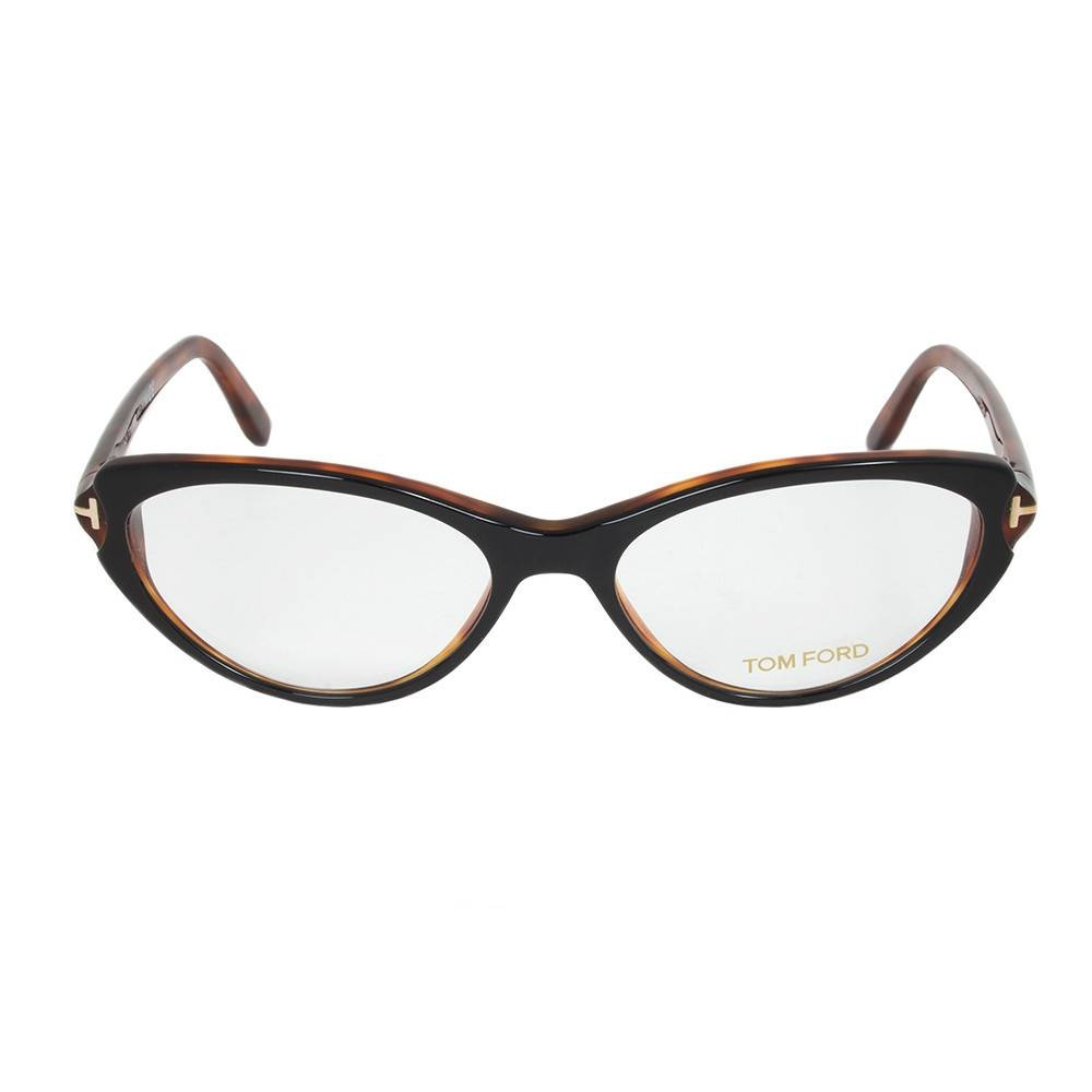 Black/Tortoise Brown Eyeglasses Frame | Size 55