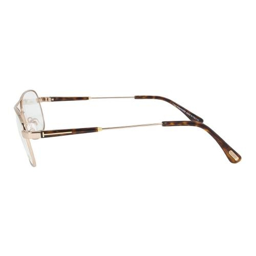 Rose Gold Eyeglasses Frame | Size 56