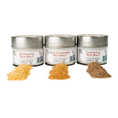 Red Hot Sea Salts | Set of 3