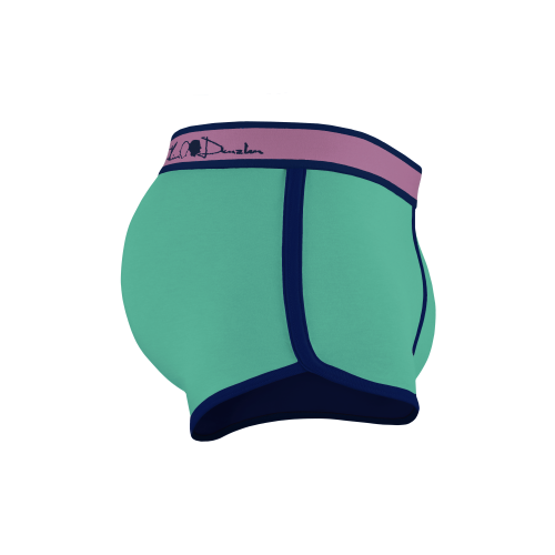 Kim Denzler 2-pack Boxer Briefs | Preppy Blue + Green
