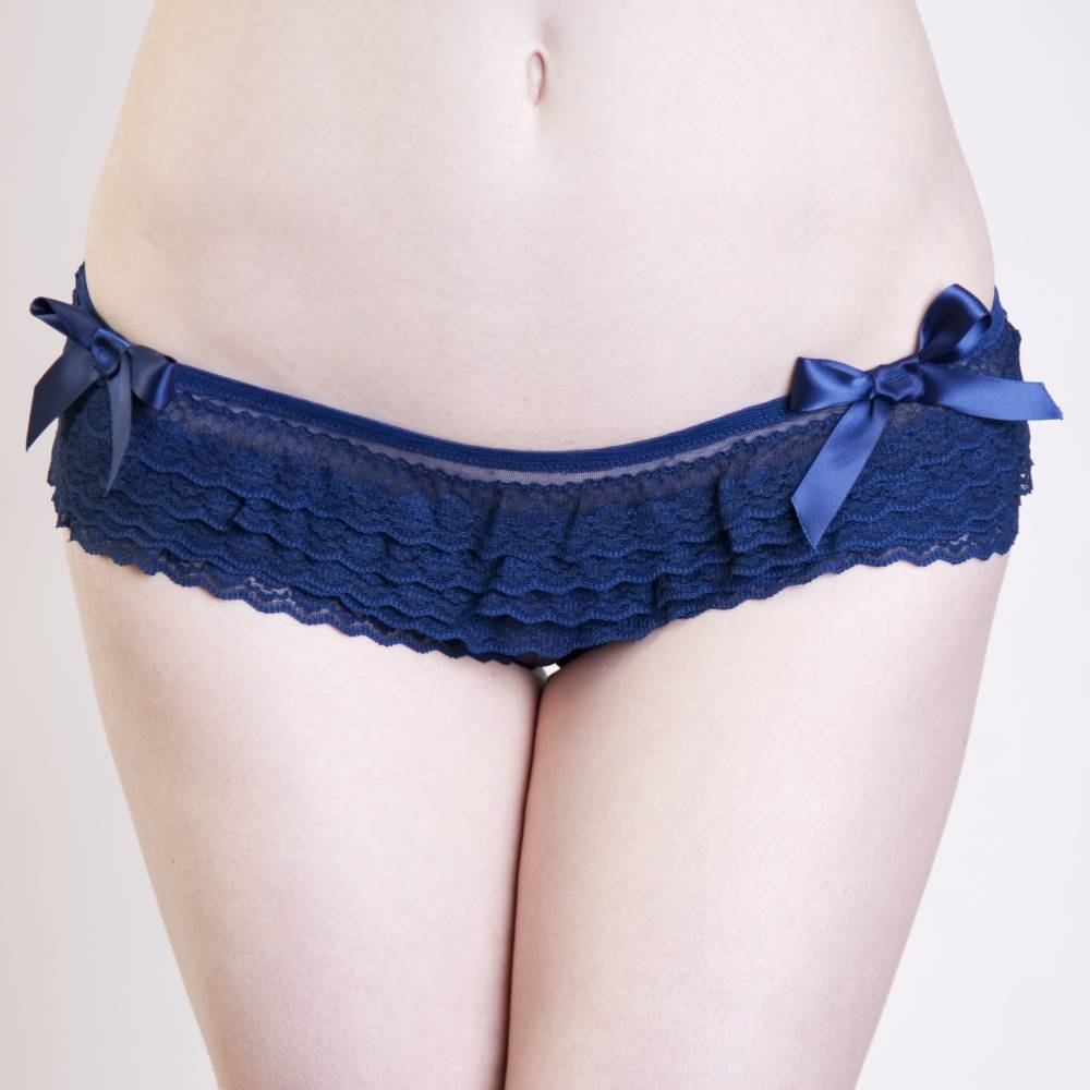 Playful Promises | Royal Navy Frilly Brief