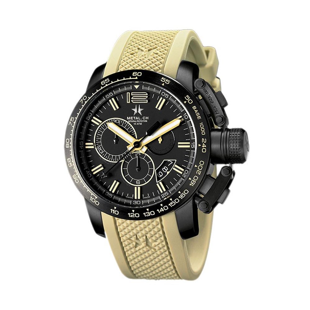 Metal CH Watch   Chronosport 4429