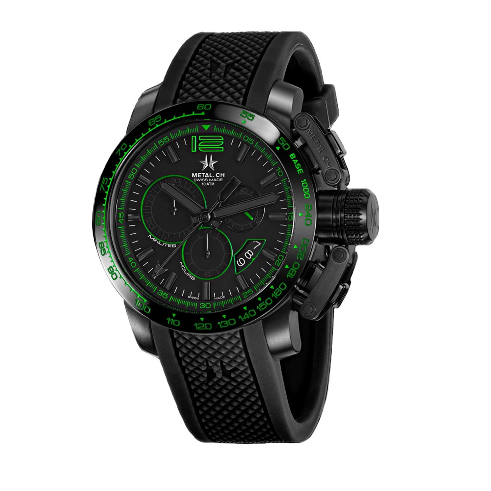 Metal CH Watch   Chronosport 4480