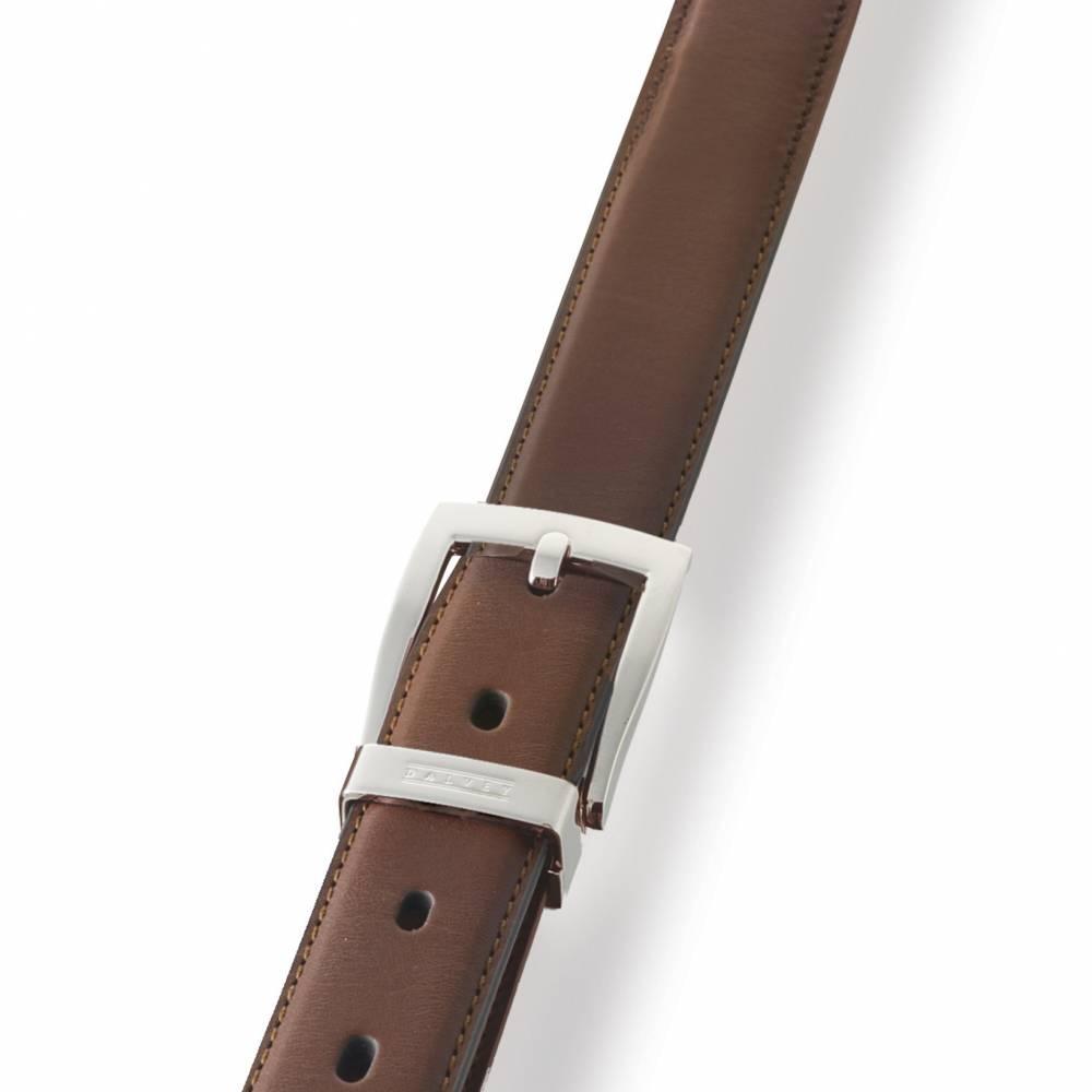 Brown Classic Leather Belt   Dalvey