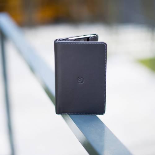 Black Leather iPhone 6 Wallet Case   Danny P