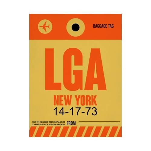 NaxArt | LGA New York Poster