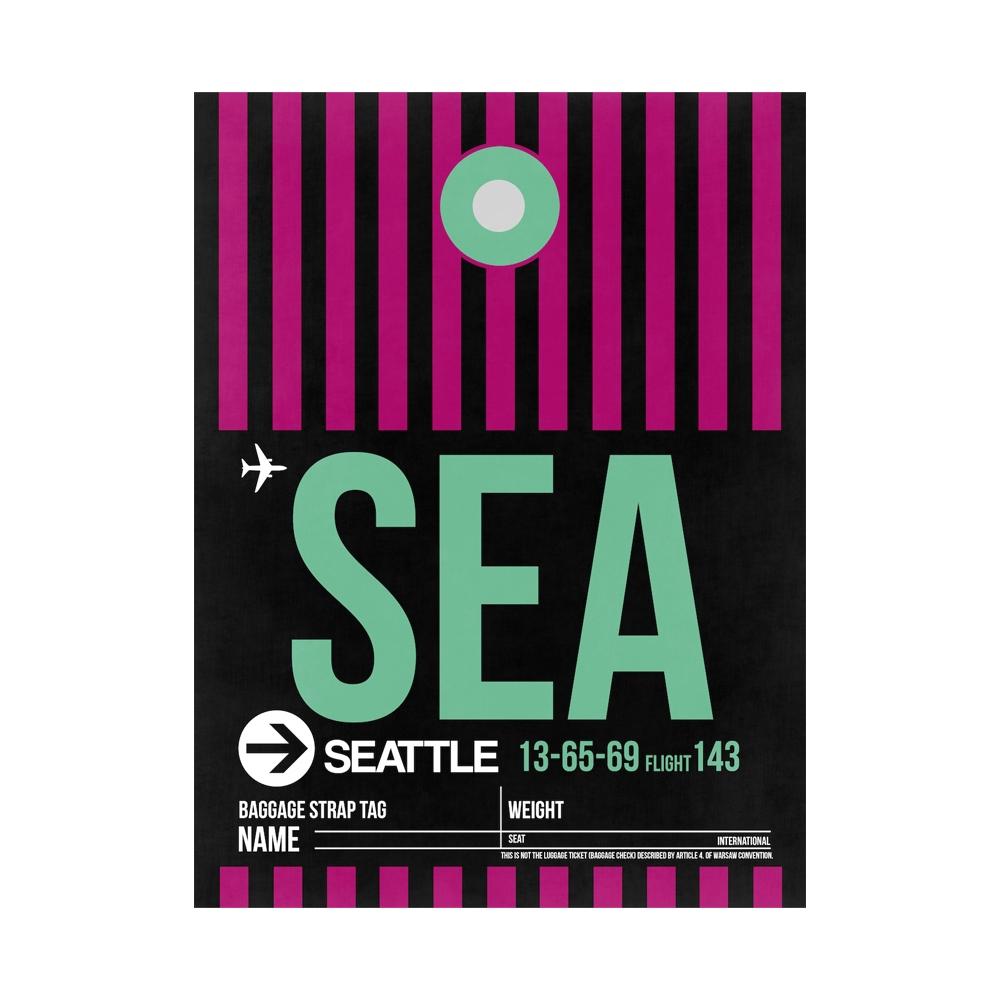 NaxArt | SEA Seattle Poster