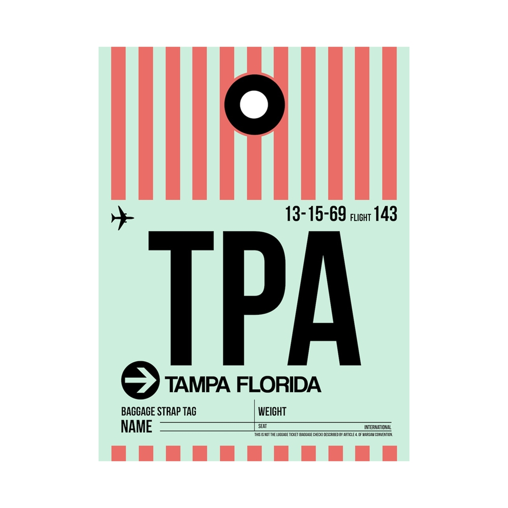 NaxArt   TPA Tampa Poster