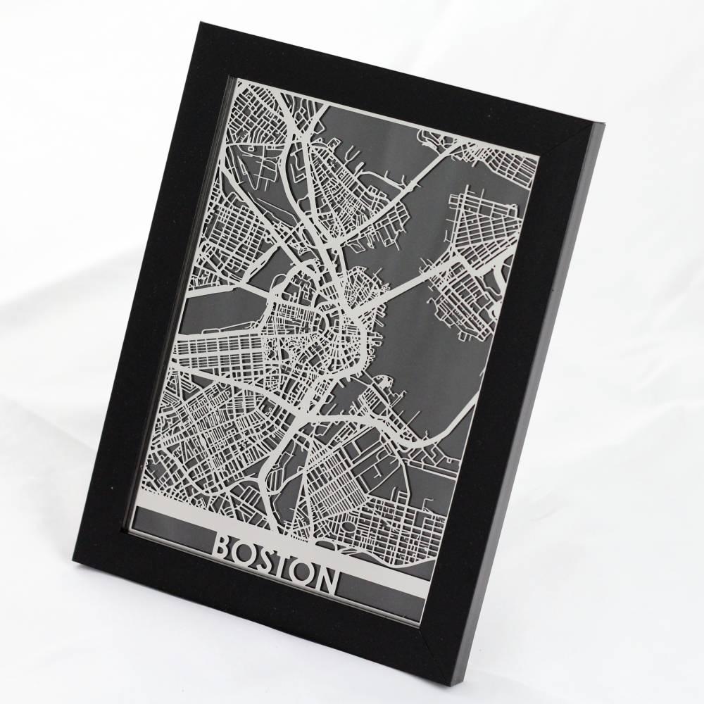 Boston | Cut Maps