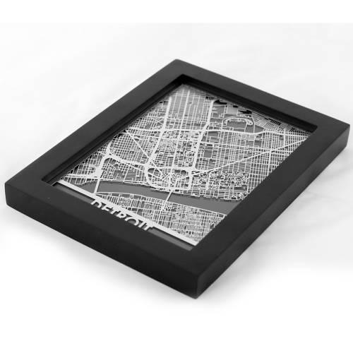 Detroit | Cut Maps