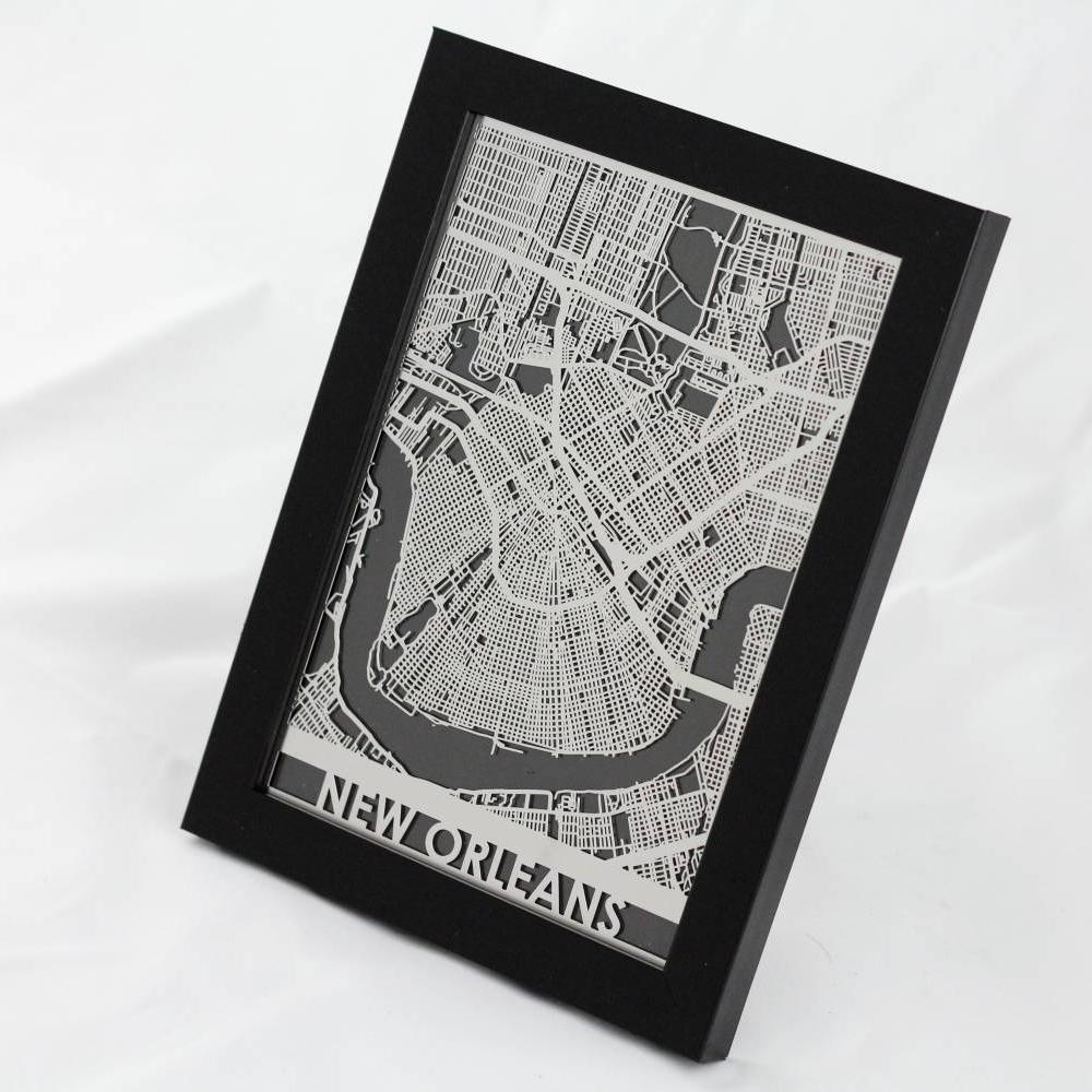 New Orleans | Cut Maps