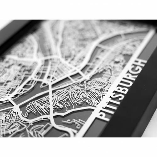 Pittsburgh | Cut Maps