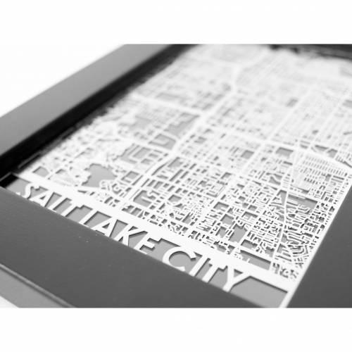 Salt Lake City   Cut Maps