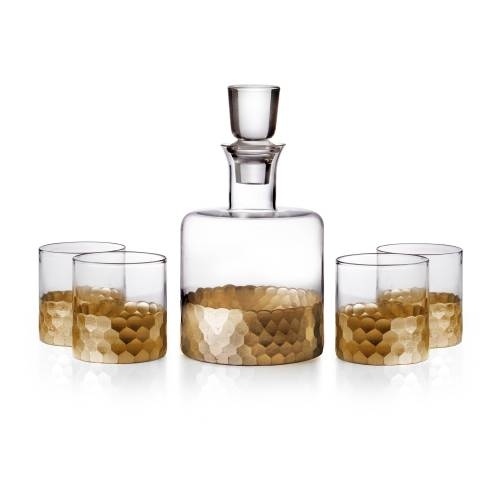 Daphne Whiskey Decanter | Set of 5