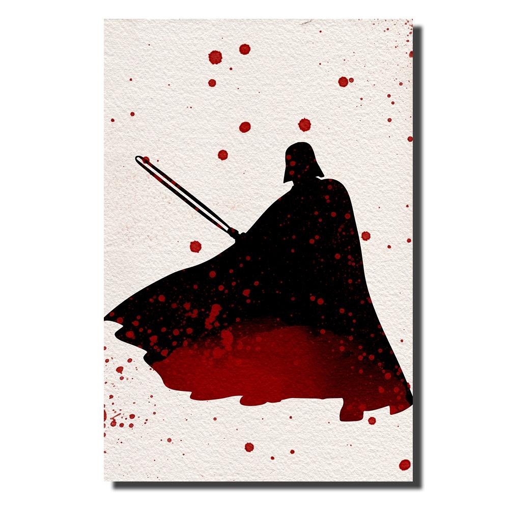 Darth Vader Watercolor | Power Cosmic