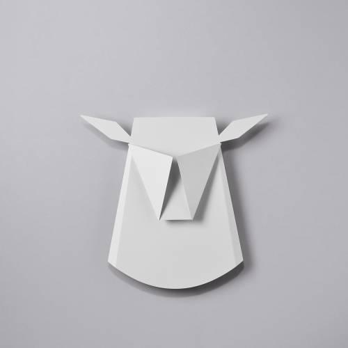 Aluminum Deer Head LED light fixture   Electricity Plug