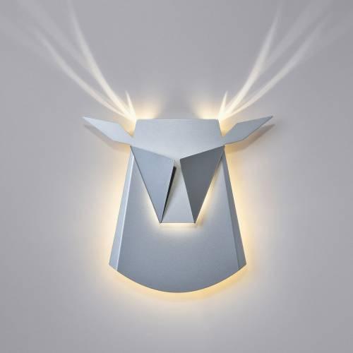 Aluminum Deer Head LED | Hardwire