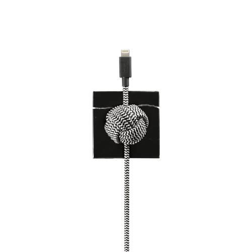 Marble Luxury Night Cable | Native Union | Lightning (Apple)
