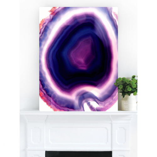 Purple Rain Canvas Print | Vivienne East
