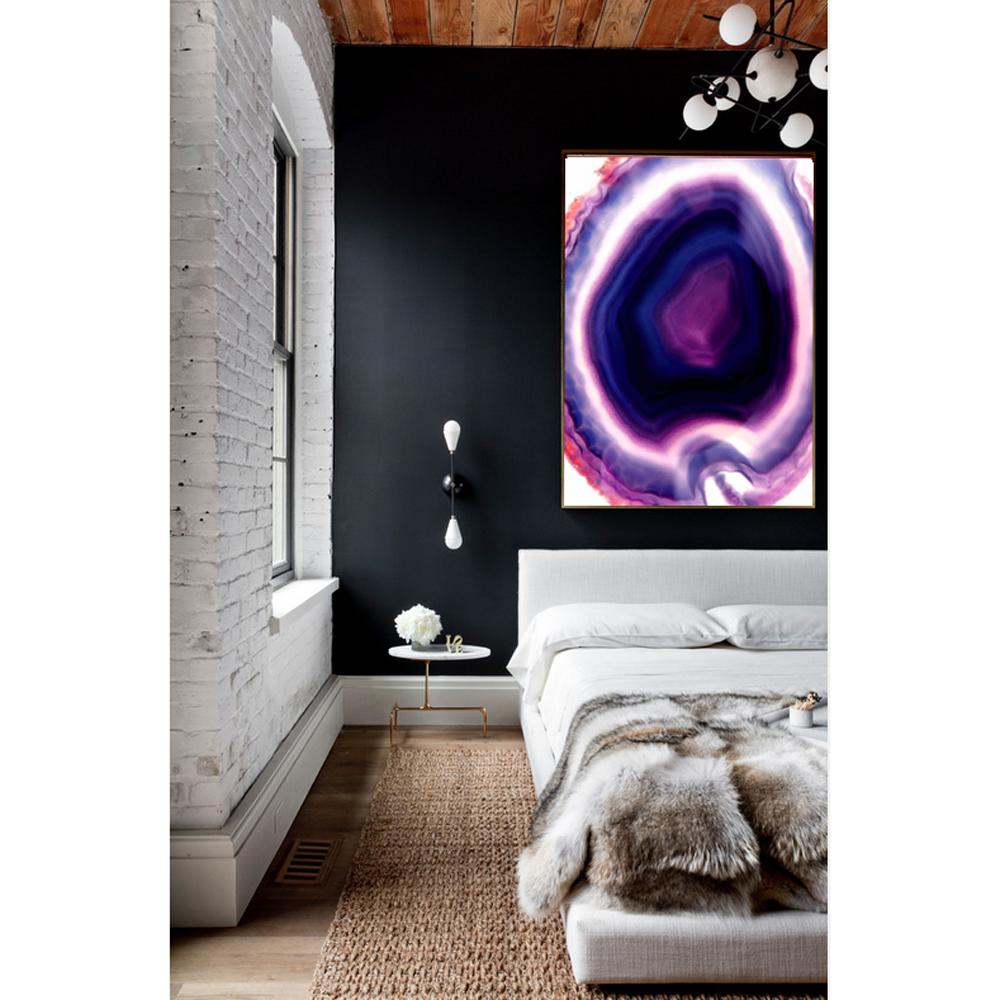Purple Rain Canvas Print   Vivienne East