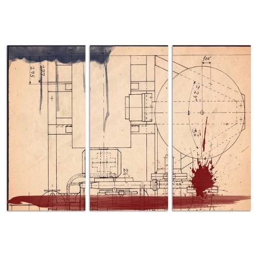 Hatcher Triptych   Canvas Art