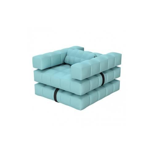 Armchair / Single Lounger Set | Aqua Blue | Pigro Felice