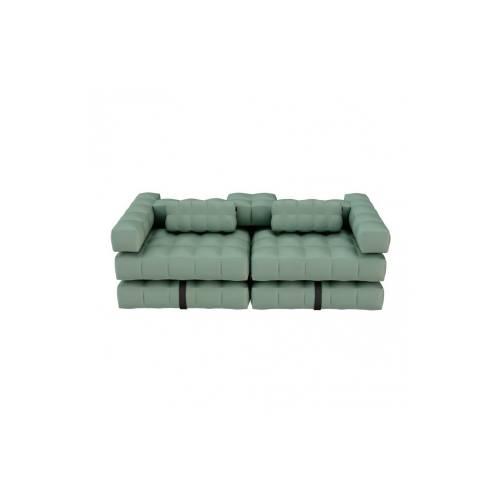 Sofa / Double Lounger Set   Olive Green   Pigro Felice
