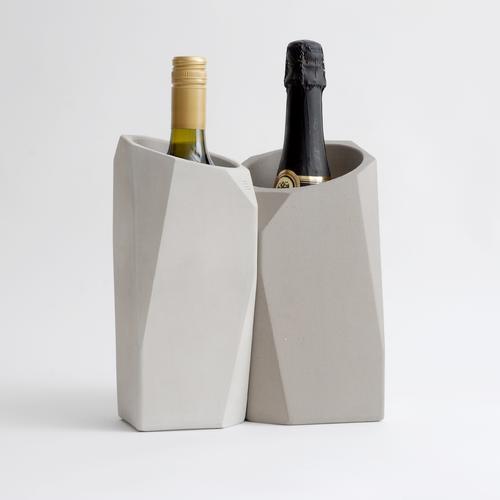 Corvi Champagne Cooler | Mineral / Graphite