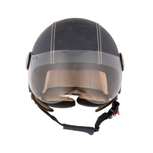 Leather Helmet | Vintage Ocean Blue