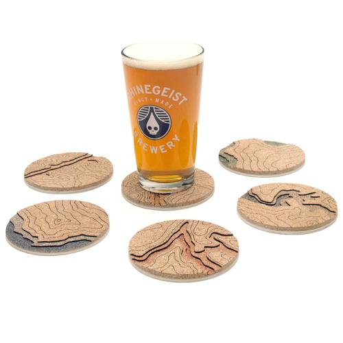 Topo Coasters | Set of 4 | Grand Canyon | Tom Will Make