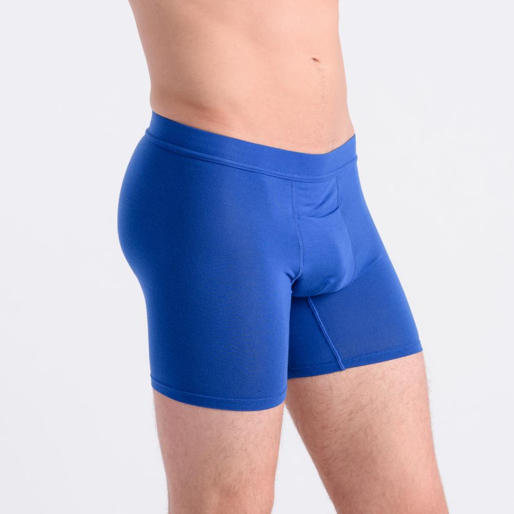 Men's Bliss Modal Boxer Briefs Underwear with Fly