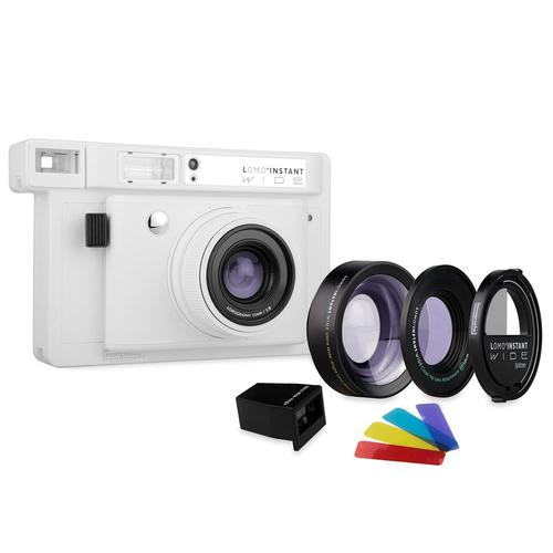 Lomo'Instant Wide Combo White | Lomography Cameras