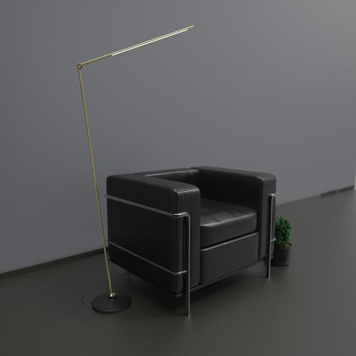 Thin Floor Lamp
