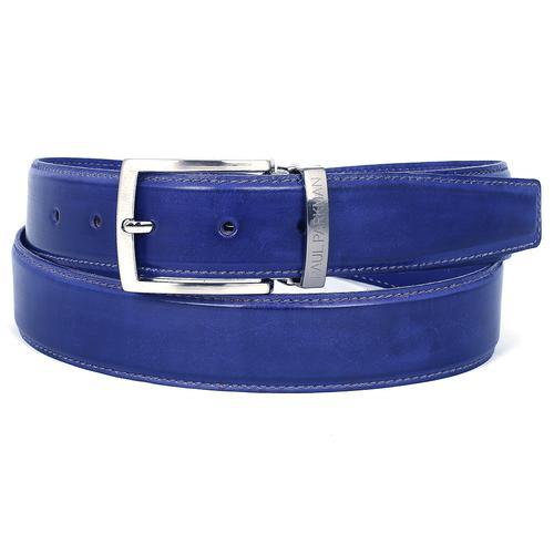 Men's Leather Belt  Cobalt | Blue