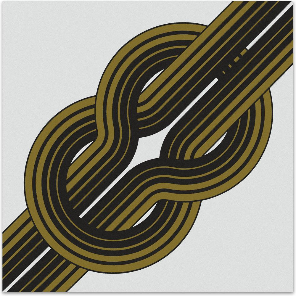 Knot // Gold   MidcenturyArt