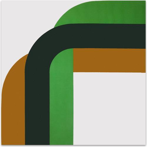 Right Angle // Mustard Greens | MidcenturyArt