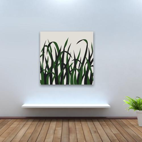 Grasses Green | MidcenturyArt