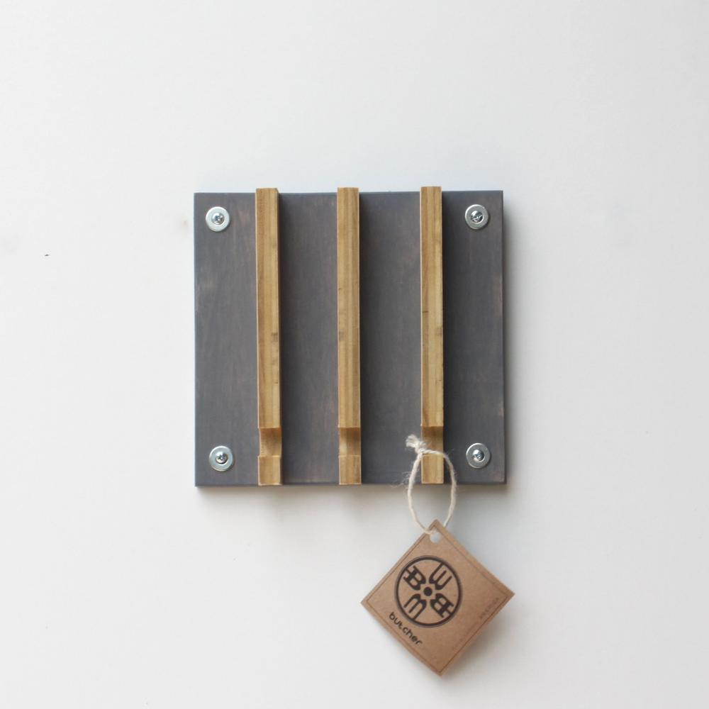 modern key rack   hooks  wood butcher designs - industrial modern key rack   hooks  wood butcher designs