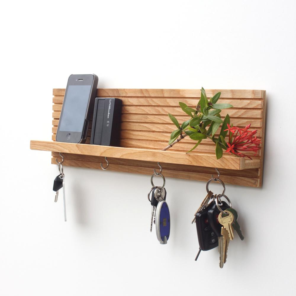 Key Holder Jewelry Organizer Wood Wood Butcher Designs