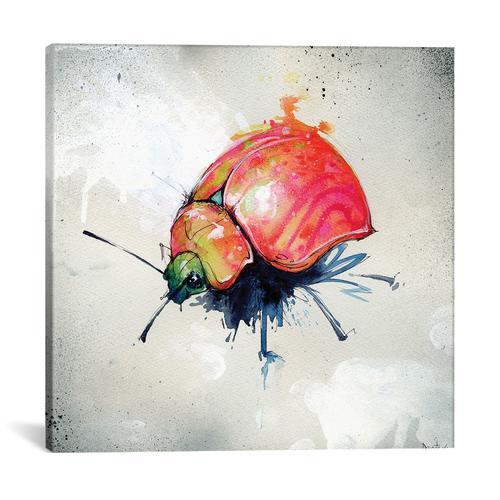 Beetle Juice I by Black Ink Art Canvas Print