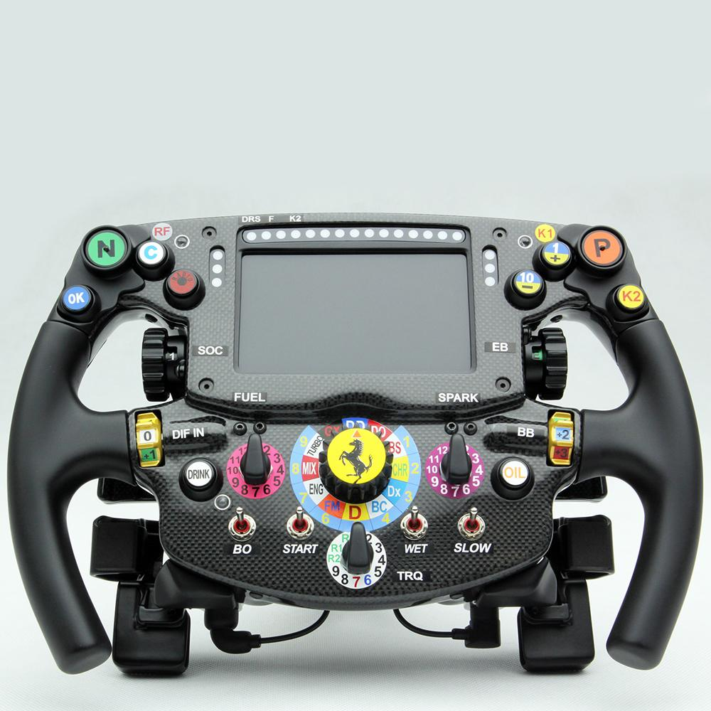 Ferrari   SF15-T   Amalgam   1:1 Scale Steering Wheel