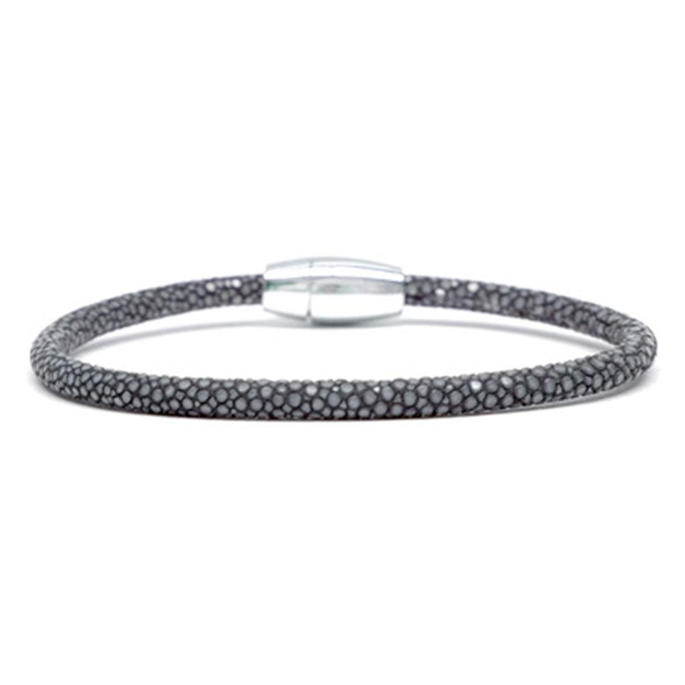 Single Stingray Bracelet | Gray | Double Bone