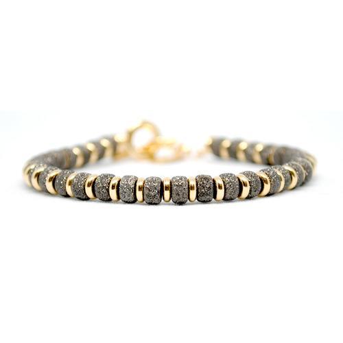 Bracelet | Multi Beads | Black/Gold