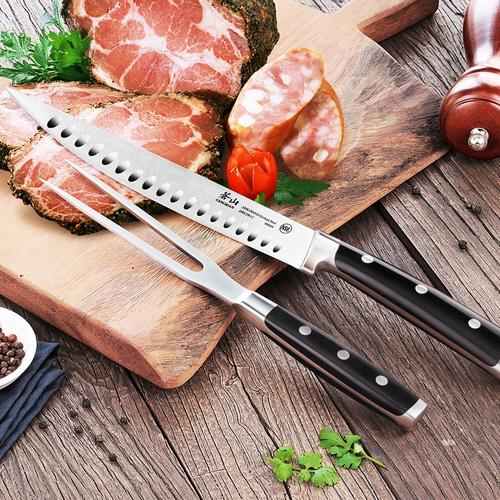 S Series   2-Piece Carving Set Combo   Steel   Cangshan