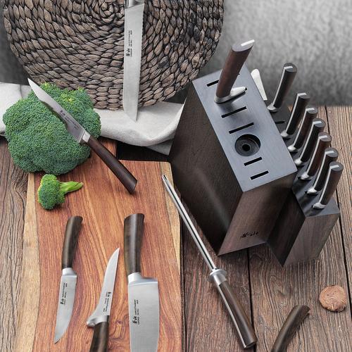 A Series 16-Piece Set | African Blackwood Handle | Cangshan