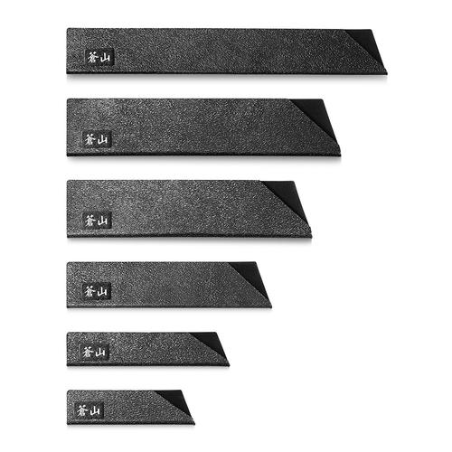6pc Knife Edge Guard Set-Black