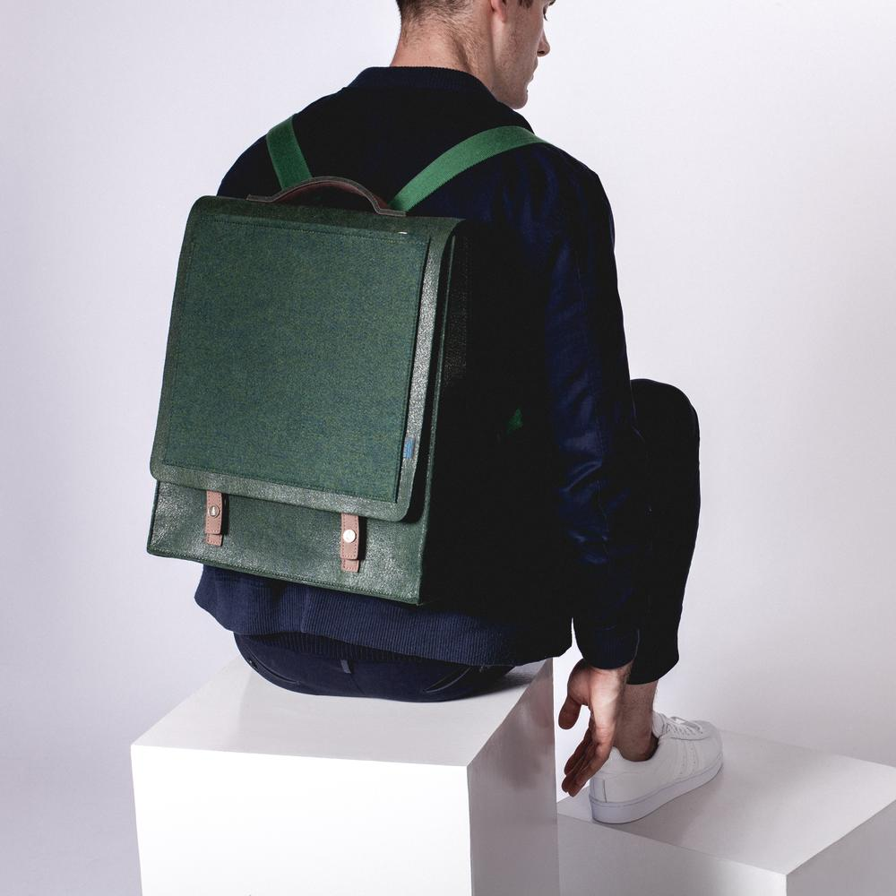 Mateo Felt Backpack | Long-lasting Structure | MRKT Bags